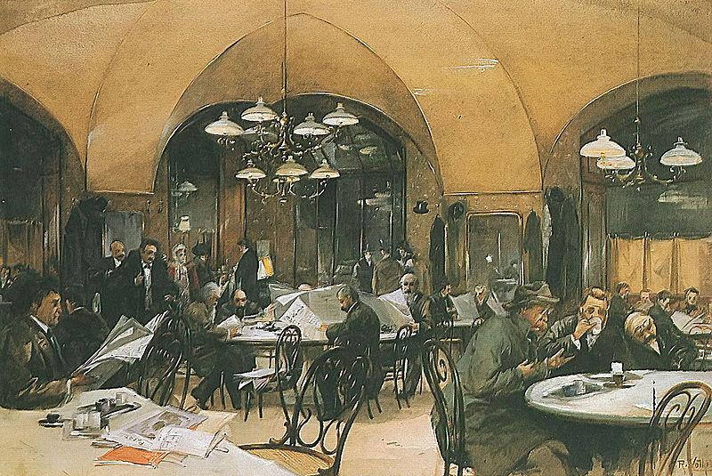 Café Griensteidl 1896