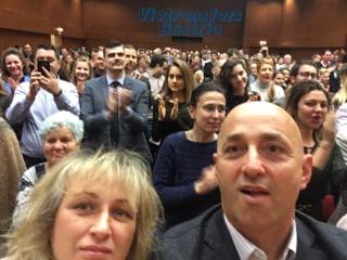 Асен Блатечки и Калин Врачански запечатаха срещата с екипа ни със снимка.