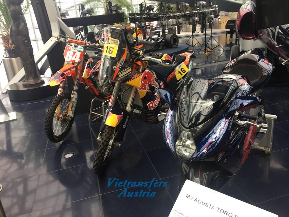 Част от уникалната колекция можете да видите в Музея на Red Bull в Залцбург