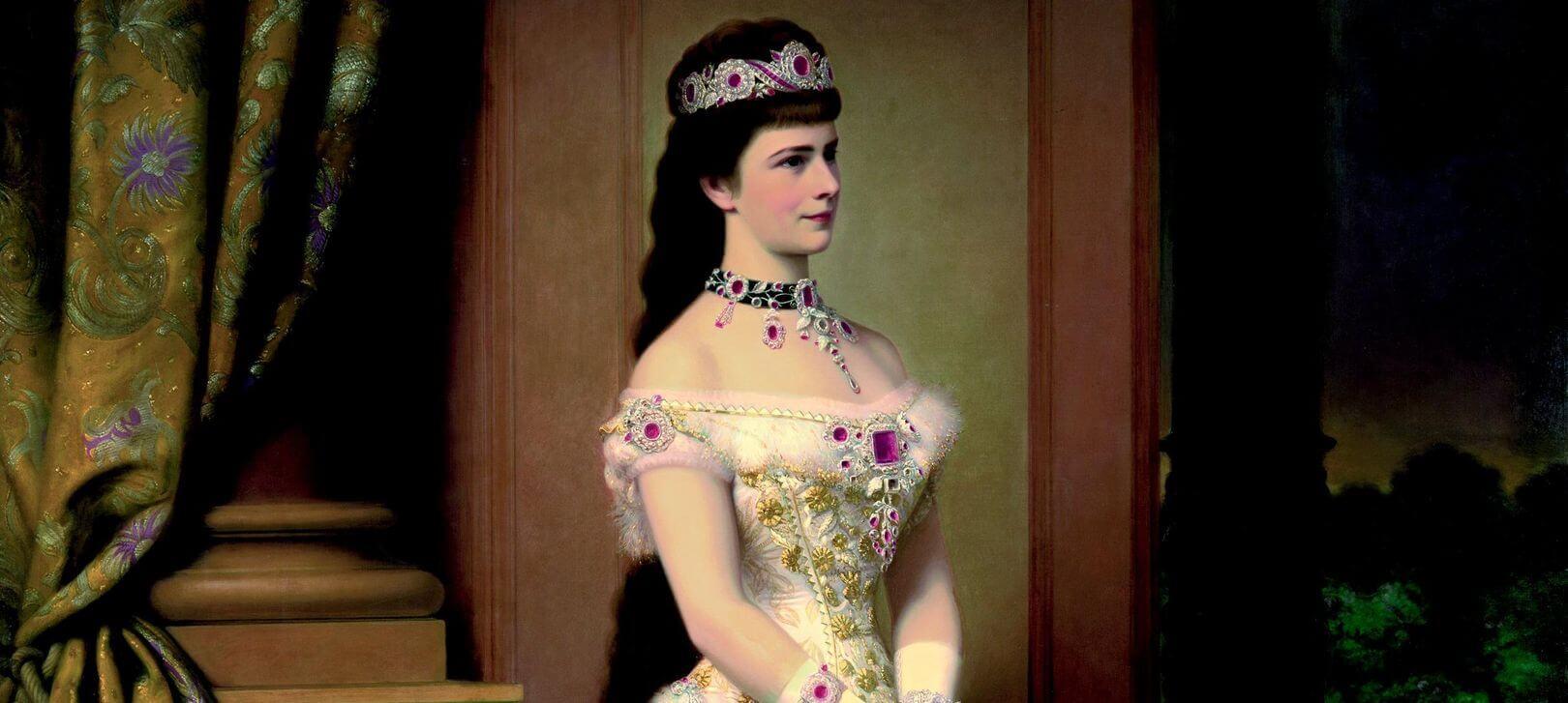 Елизабет. Портрет от Франц Ксафер Винтерхалтер