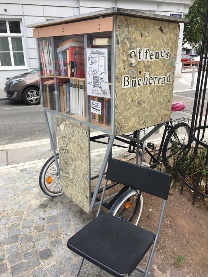 Библиотека на колело във Виена