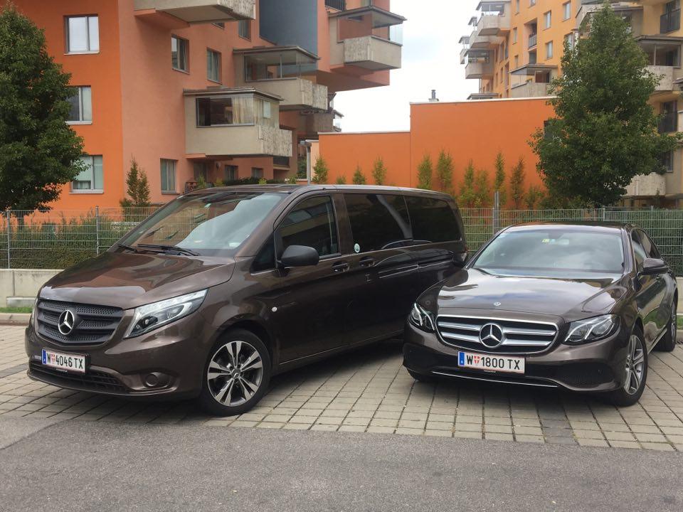 Vietransfers Austria осигурява коли от различен клас
