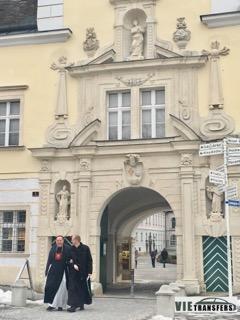Heiligenkreuz е средище на поклонническия туризъм